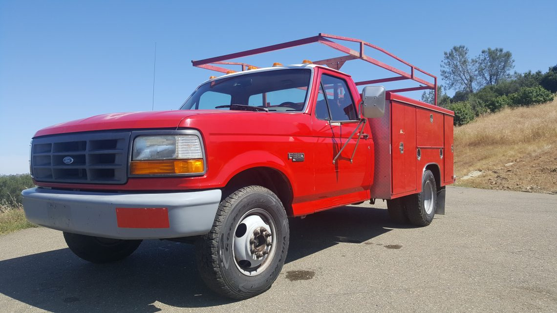 1997 Ford F350 Utility Truck