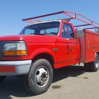 1997 Ford F350 Utility Truck - Perfect Mobile Mechanic Vehicle